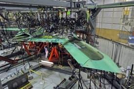 X-47B AV-2 Undergoes Proof Load Test