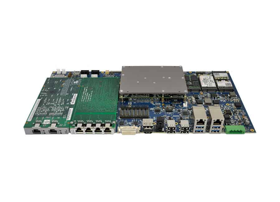 COM Express® Type 6 PMC:XMC Carrier Board