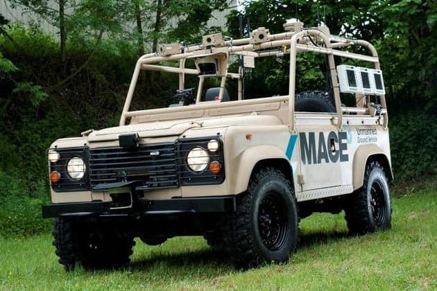 MIRA Debuts MACE 'Guardsman' UGV | Unmanned Systems Technology