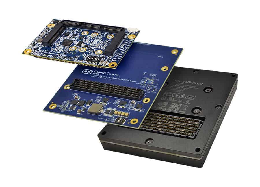 Mimic – NVIDIA® Jetson AGX Xavier™ to TX2:TX2i:TX1 Adapter