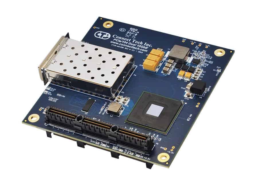 PCIe:104 Dual 10GbE