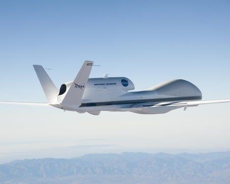 NASA Global Hawk UAV to be used for Hurricane InvestigationsNasa Global Hawk