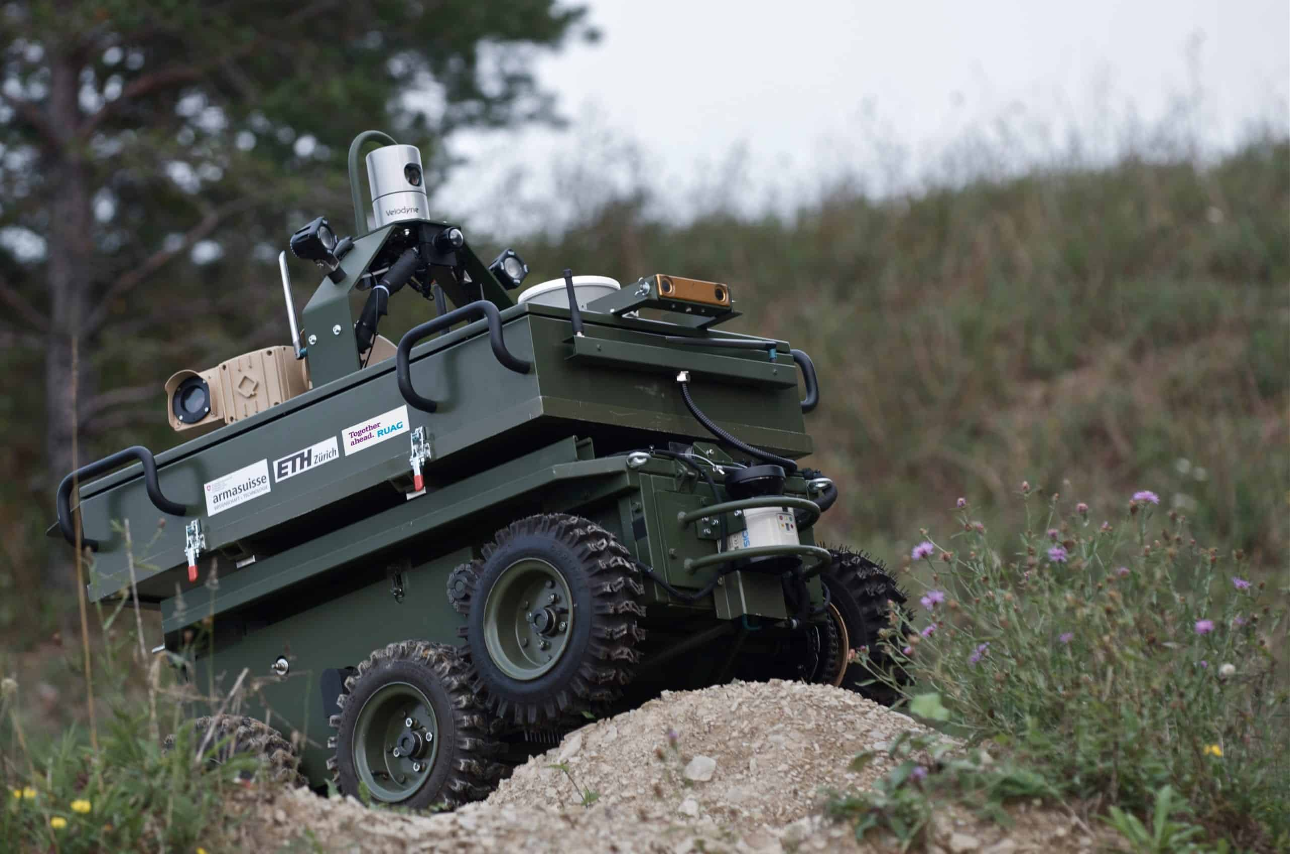 RUAG Presents Two Unmanned Ground Vehicle Projects at M