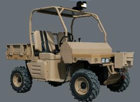 Automated Polaris Ranger Platform