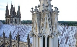 Cathedral Aerial Filming
