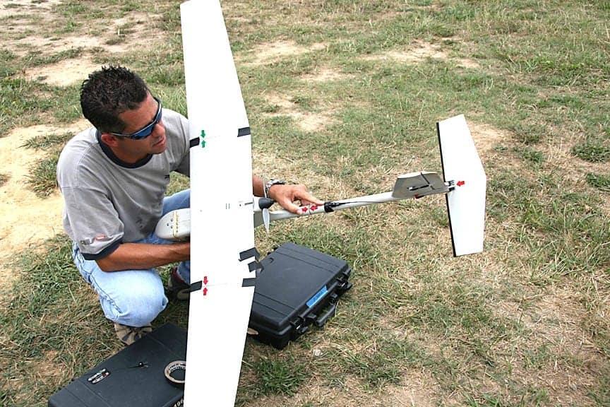 UAV Tracker on Raven