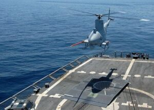 The MQ-8B Fire Scout UAV (U.S. Navy photo)