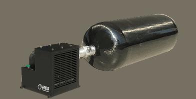 AEROPAK-G - compressed hydrogen gas for UAVs