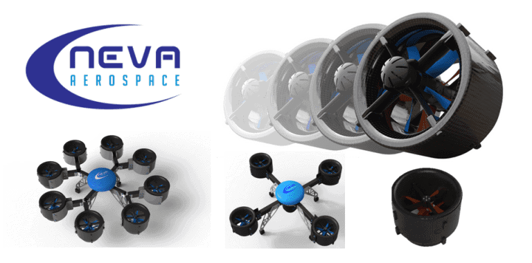 Neva Aerospace Electric Turbofan UAV Propulsion