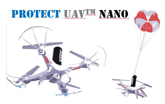 Protect UAV Nano Parachute