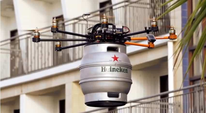 Beercopter Beer Drone Unmanned Systems Technology