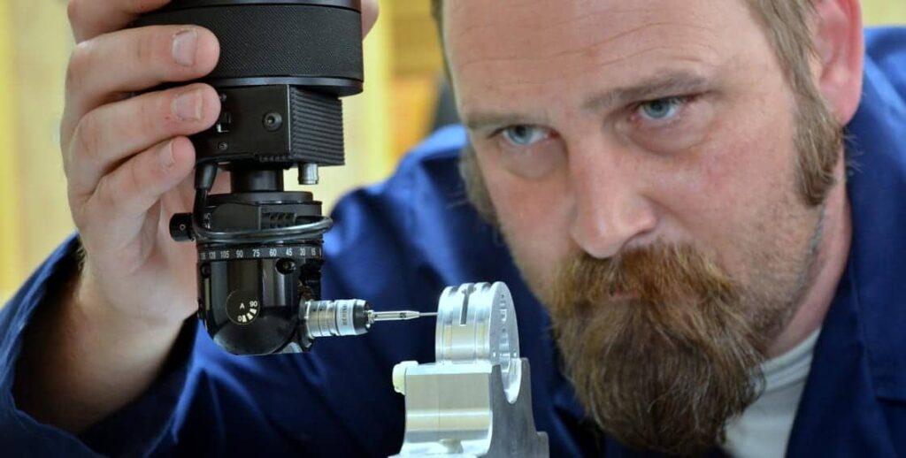 CMM Inspection of Aerospace Parts