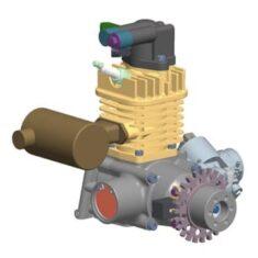 Single Cylinder UAV Engine