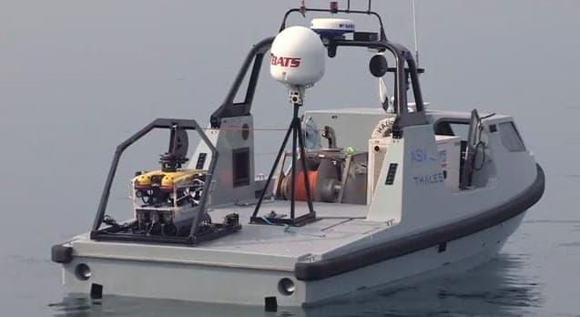 Video Thales Asv Amp Saab Complete Unmanned Mine