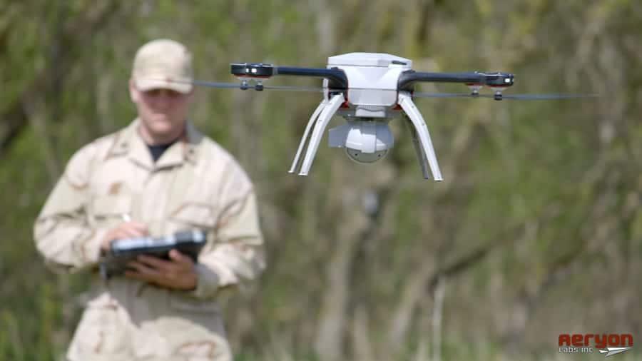 Aeryon SkyRanger Military UAV