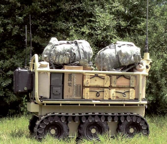 A multipurpose robot for military