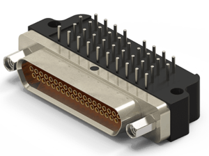 Lightweight Micro-D circuit connectors