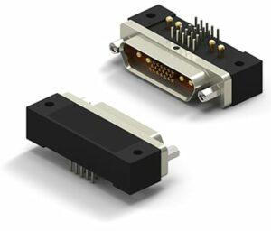 MicroD Combo Circuit Standard Profile Metal Shell Connector
