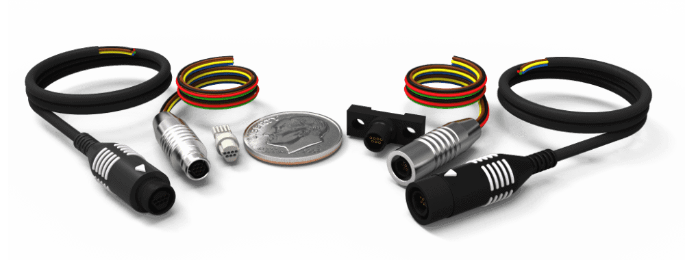 Nano Circular Wired and Solderable Connectors