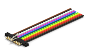 Single Row Micro-D Strip Connectors