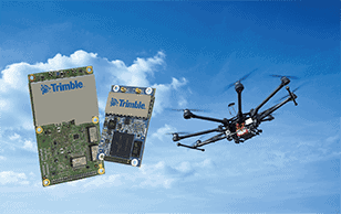Trimble GNSS of UAV Navigation and Control