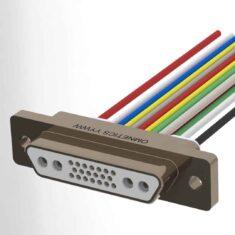 Hybrid Micro-D Connector