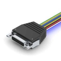 Latching Bi-Lobe Male Connector