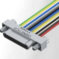 Single Row Bi-Lobe Male Connector