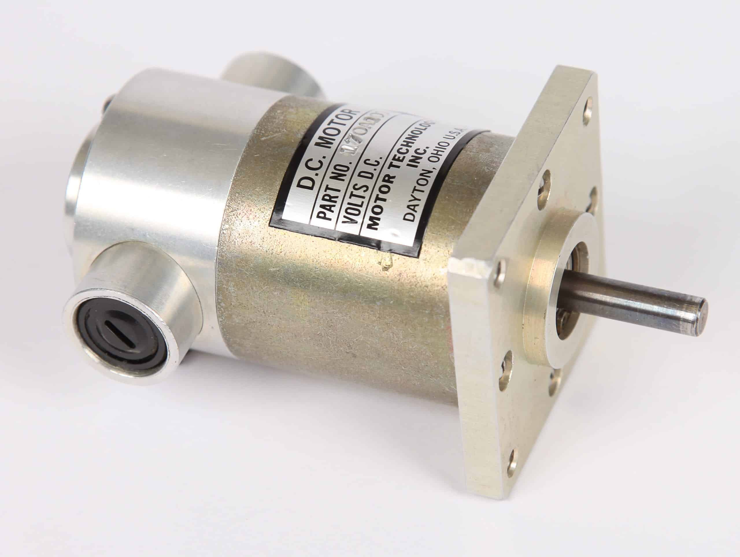 170A100 Military-Grade Fractional HP DC Motor