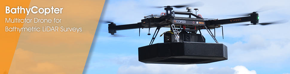 BathyCopter – Multirotor Drone for Bathymetric LiDAR Surveys