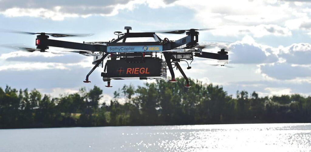 Drone for Bathymetric Survey