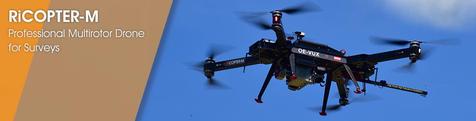 RiCOPTER-M – Professional Multirotor Drone for Surveys