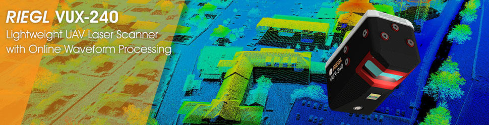 VUX-240 – lightweight drone laser scanner