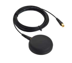 Compact Single-Frequency GNSS Antenna with L-Band