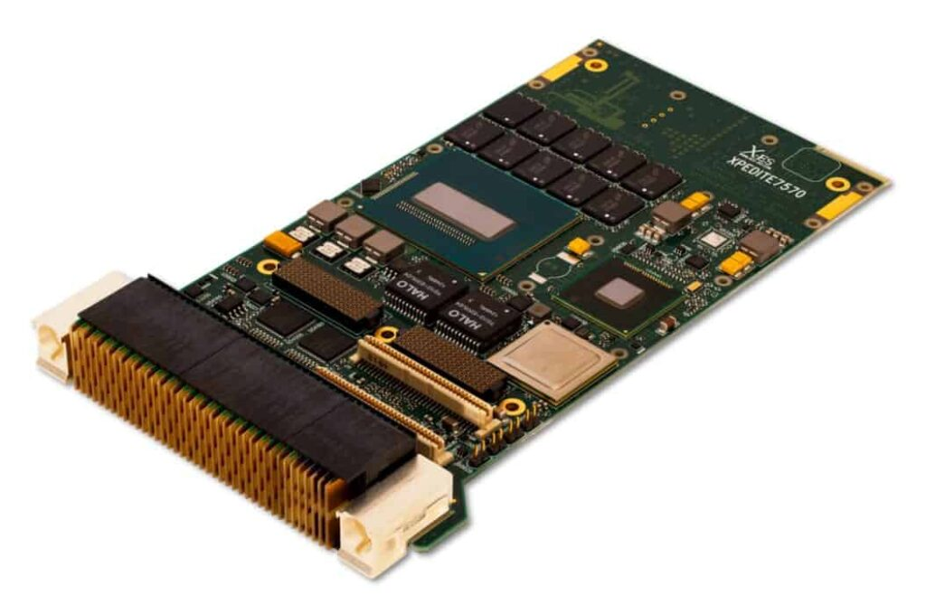 XPedite7570 5th Gen Intel Core i7 Haswell Conduction or Air Cooled 3U VPX SBC
