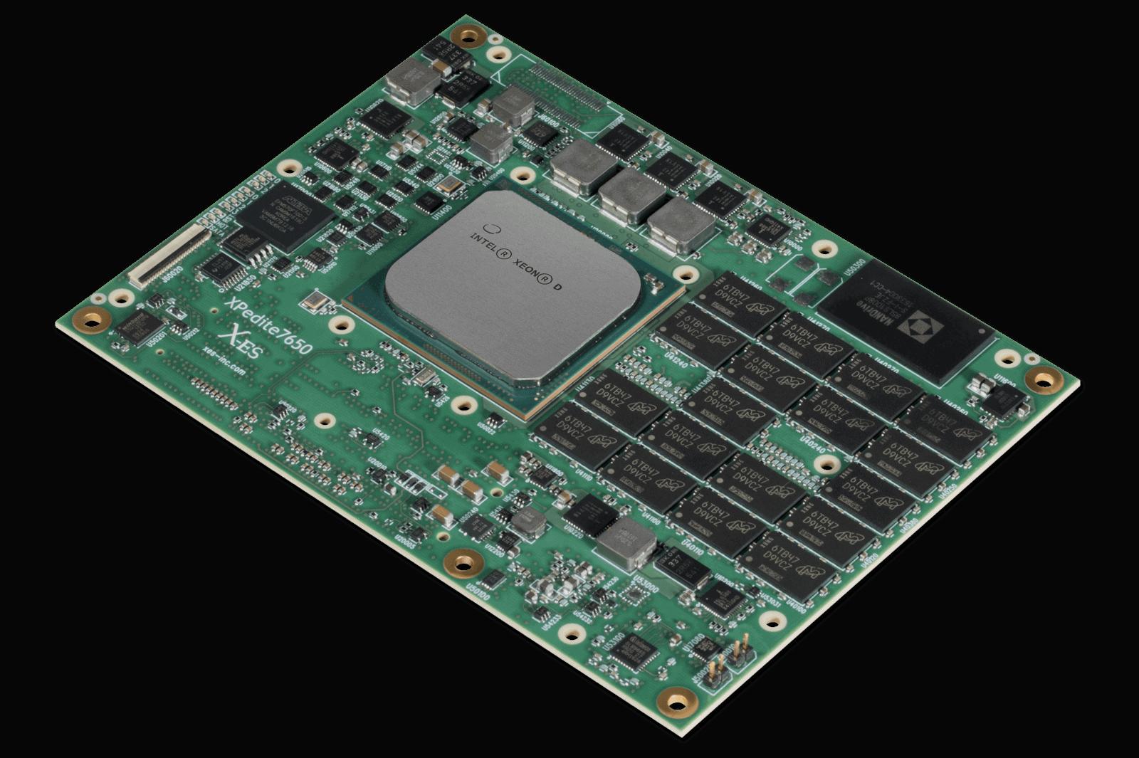 XPedite7650 Rugged COM Express Module