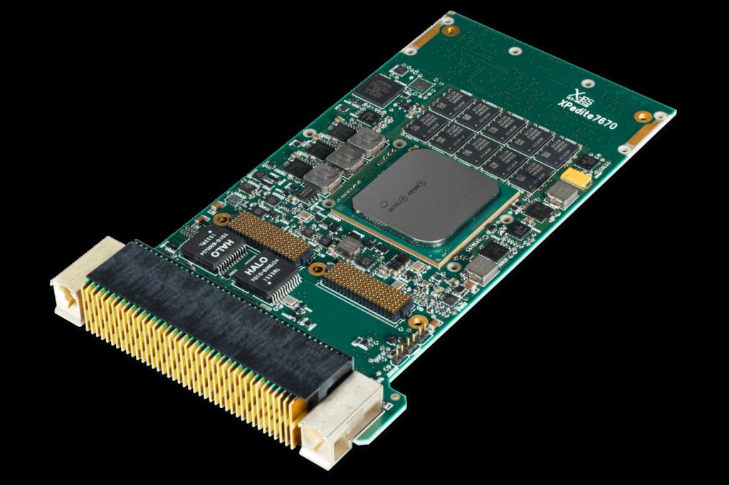 XPedite7670 3U VPX-REDI Single Board Computer