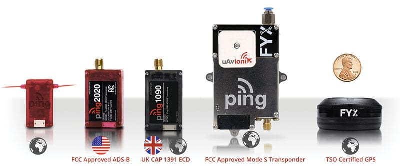 uAvionix Transponders - Receivers - ADS-B Transceivers