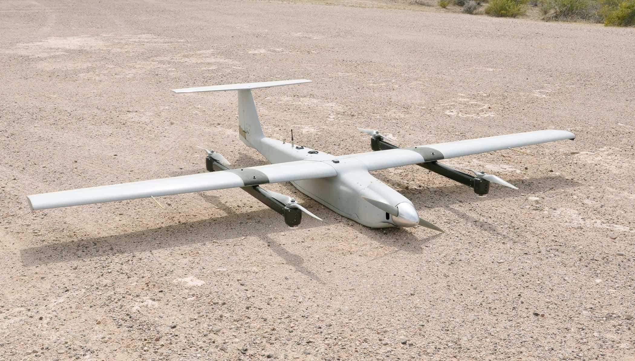 UAV Arcturus T-20 JUMP(VTOL)(marina armada de mexico) JumpFive