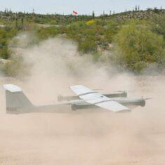 VTOL UAV Take-off