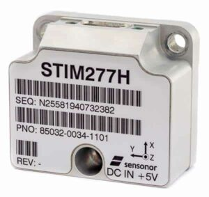 STIM277H 3-Axis Hermetic MEMS Gyro