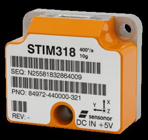 STIM318 Compact Tactical-Grade IMU