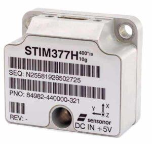STIM377H Tactical-Grade Hermetic MEMS IMU