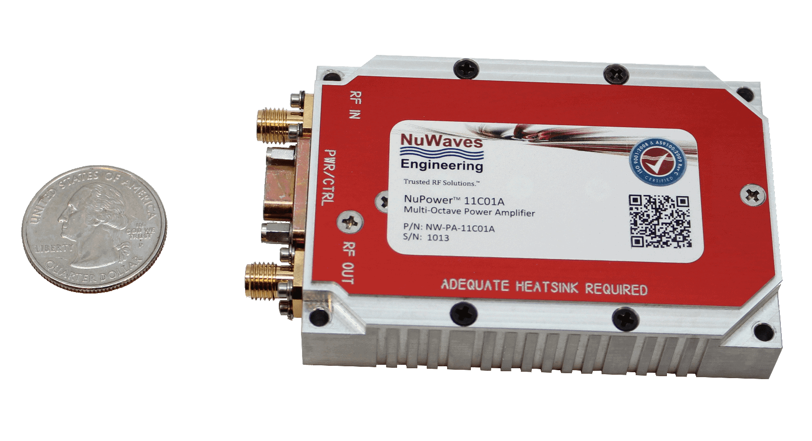 NuPower 11C01A Multi-Octave Power Amplifier