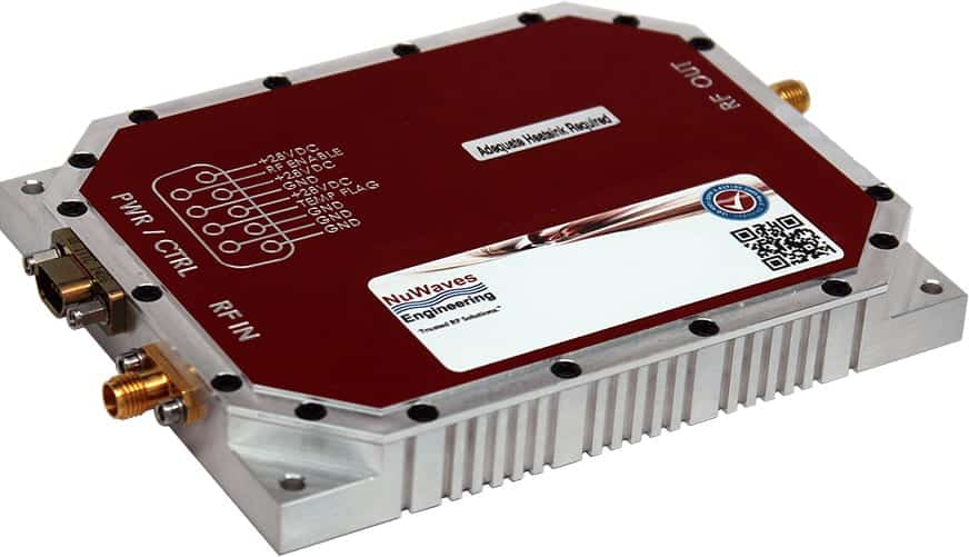 NuPower S-Band Power Amplifier | Unmanned Systems Technology