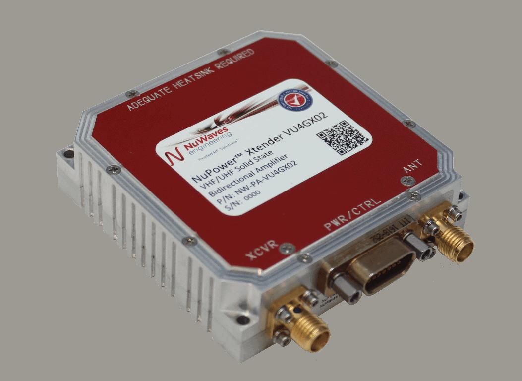 NuPower Xtender ™ VU4GX02 Bidirectional V- & U-Band Amplifier