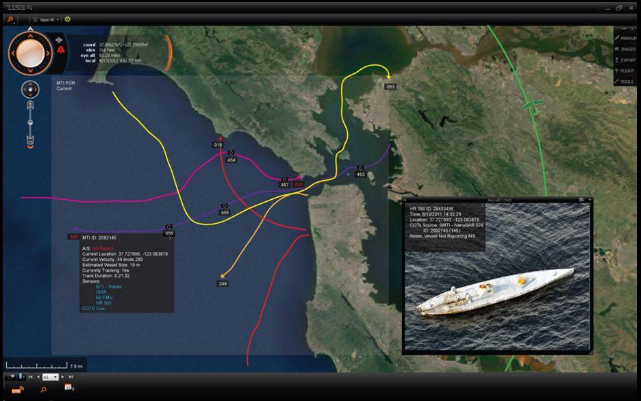 Maritime Monitoring Radar
