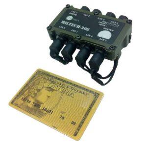 MILTECH308 Fast Ethernet Unmanaged Switch - Size Comparison