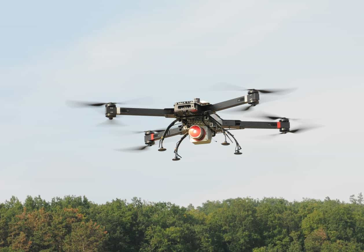 RIEGL Launches LiDAR-Equipped RiCOPTER Unmanned Aerial
