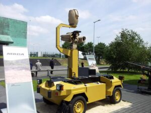 Robbox UGV with Spynel Imaging System